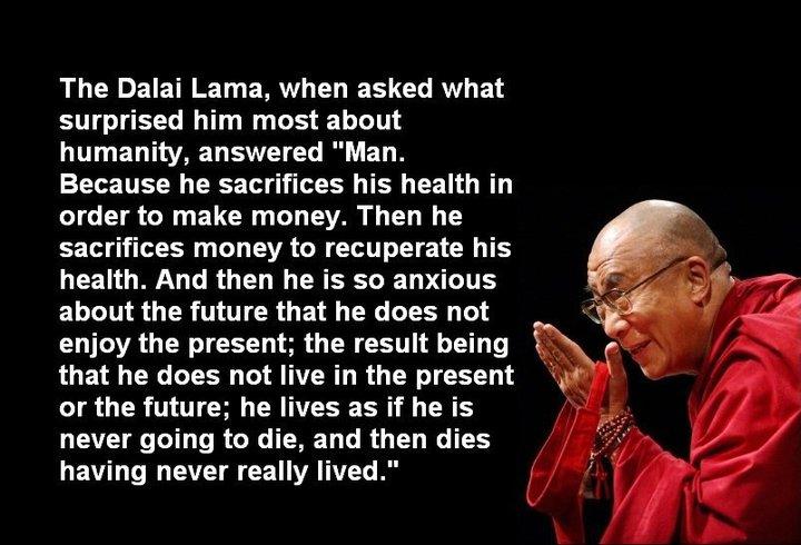 where will the actual dalai lama live